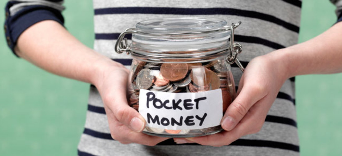 pocket money to your kids