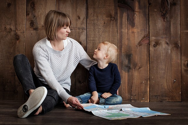 Provide explanations to the child