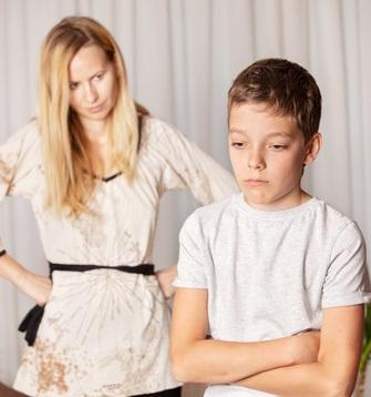 conflict between adult children and parent